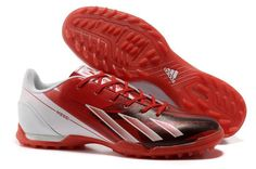 promo code ce67c 6472e New 2013 Release Messi adidas Turf TF Red White Football Shoes For Wholesale
