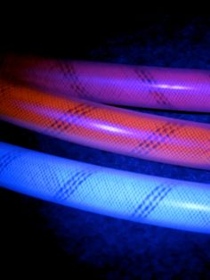FROST BRITES UV Reactive Frosted Polypro Hoops Coil by Kindlette, $46.00    with crinoline core