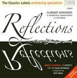 Reflections: Clarinet Concertos by Gerald Finzi, Graham Fitkin & Carl Davis [CD]