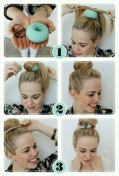 Get ready for a Beauty How-To: Fun Bun edition!