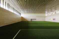 Sports Hall in Vienna by Franz Architekten and Atelier Mauch.