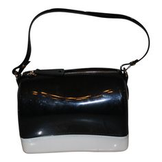designer purses for teens 2v7u  Child Sized Purse AMIANA DESIGNER MINI JELLY BLACK & WHITE