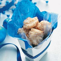Coconut Cookies Recipes from Taste of Home, including Chewy Coconut Macaroons Recipe