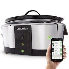 Crock-Pot Smart Wifi-Enabled WeMo 6-Quart Slow Cooker, SCCPWM600-V1, http://www.amazon.com/dp/B00IPEO02C/ref=cm_sw_r_pi_awdm_b9C6wb1JN4F6E