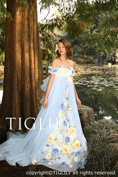 TIGLILY Collection - How pretty is this!? Ball Gown / Evening Dress / Prom / Homecoming / Sweet Sixteen Dress