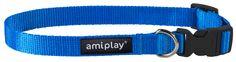 Adjustable collar with lock Basic. Blue