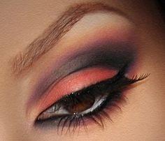 Purple Coral Eyes