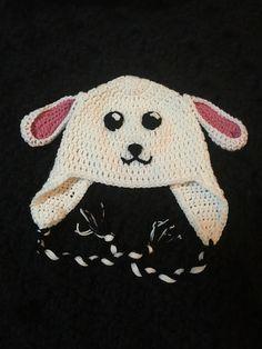 Ravelry: Crochet Lamb Hat Pattern pattern by Megan Unay