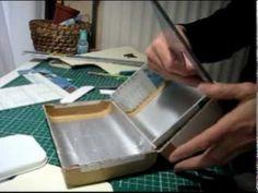 Comment faire des boites en marqueterie de carton? - YouTube