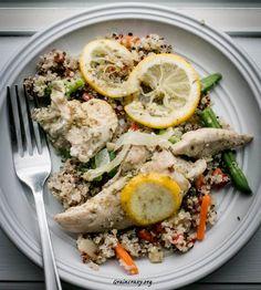 Lemon Quinoa and Chicken | Grain Crazy