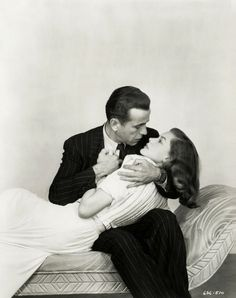 Humphrey Bogart & Lauren Bacall -  how could  you Not fall in love??