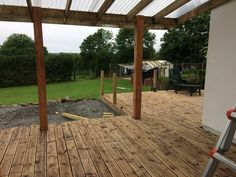 Pergola, Deck, Outdoor Structures, Outdoor Pergola, Front Porches, Arbors, Decor, Decks, Pergolas
