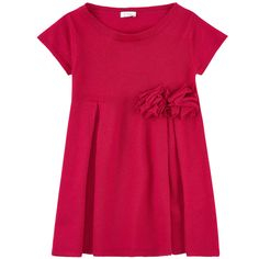 New wool knit Crew neck Short sleeves Box pleats on the front and in the back - $ 112