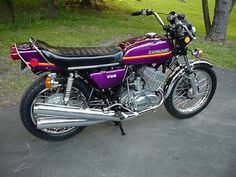 Vintage Kawasaki H2-750 Triple 750cc Motorcycle  Had one of these.
