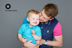 Some really cute shots of Dexter and his Dad Adam in our #Cardiff Bay #Photography #Studio.