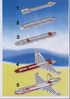 City - Aircraft [Lego 1774]  saved
