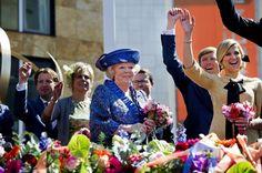 Koninginnedag, Queen's Day, 30 april 2012 in Veenendaal.