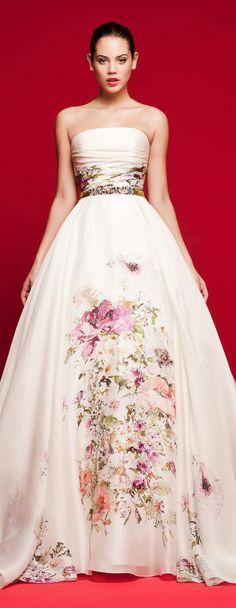 Floral Wedding Dress - Daalarna 2018 Love Story Bridal Collection
