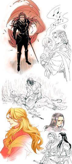 Silmarillion sketches by Athew.deviantart.com on @deviantART