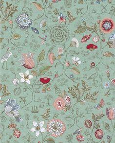 Spring to Life Green Pip Studio Wallpaper
