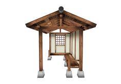 My Oriental Garden   Japanese Garden Shed, Japanese Garden Bench, Japanese Garden Shelter, Japanese Garden Koshikake, Japanese Summer House, Style, Lifestyle, Yokaze