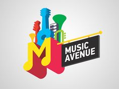 music style logo 01 pic on Design You Trust Brand Identity Design, Logo Design Services, Custom Logo Design, Branding Design, Logo Musik, Lascaux, Festival Logo, Logo Branding, Logos