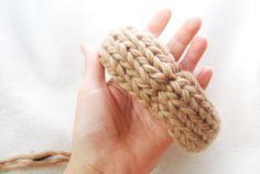 Kanelstrand Simple Living: Weekend DIY: How to Felt a Bracelet