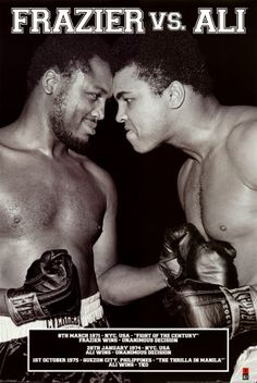 - Muhammad Ali vs Joe Frazier -
