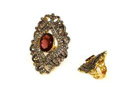 Wedding rings - 11.75g 1.29ct Nizam Diamond Jewelry Ring 4