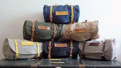 Classic Vintage Style Bicycle Bag (Made to Order)