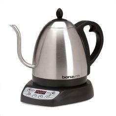 Presto 02703 Electric Tea Kettle White//Blue 1