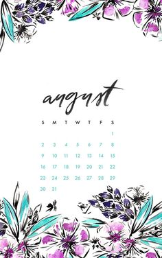 Free downloadable monthly phone and desktop background ...