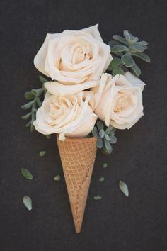 A sweet floral surprise!   via | thesarahjohnson.com