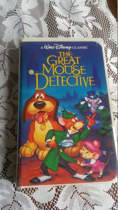 #FreeUSShipping 1992 #TheGreatMouseDetective #VHS #waltdisney #classic #blackdiamond #vintage https://www.etsy.com/listing/486067156/free-us-shipping-1992-the-great-mouse?utm_campaign=crowdfire&utm_content=crowdfire&utm_medium=social&utm_source=pinterest