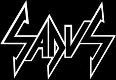 Another logo for Sadus. Metal Font, Metal Band Logos, Metal Bands, Rock Bands, Black Metal, Heavy Metal, Horror Font, Metal Artwork, Thrash Metal