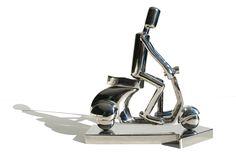 Primavera  -  Stainless steel   45 x 30 x 15 cm