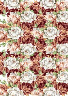 roses backing