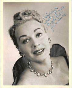 June Havoc...sister of Gypsy Rose Lee
