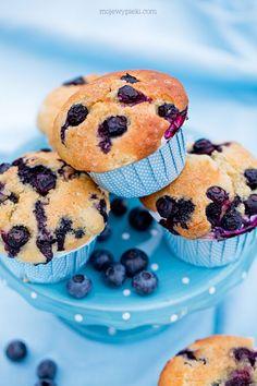 Muffiny z serem i jagodami