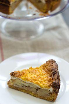 Szarlotka o tarta de manzana polaca - Polish appel pie Polish Recipes, My Recipes, Love Cake, Deli, Food Porn, Pie, Sweet, Desserts, Eastern Europe