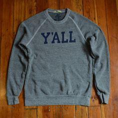 Kentucky for Kentucky y'all sweatshirt, $50 (Made in Lexington, Kentucky) #madeinusa #madeinamerica