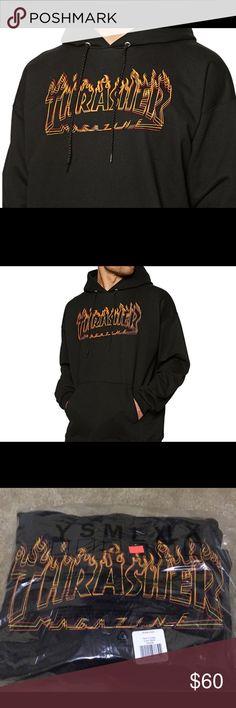 a01ac136d9 Thrasher flame🔥 hoodie Bran New in bag Tops Sweatshirts & Hoodies
