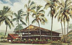 https://flic.kr/p/HrSk1G | Kona Galley Restaurant - Kailua-Kona, Hawaii | Located on the big islands historic Kona Coast. Site of the Annual Bill Fishing Tournament. Boats supplying fresh fish for our menu can be seen from the restaurant. Mailed from Hawaii to Mts. Gladys Swope & Ed of Ypsilanti, Michigan on November 5, 1973: Hi - Leaving here (Kona) for the island of Maui by plane (about 20 min. hop) 2 days there. Sat beaches are beautiful there. Took a 20 mile yacht trip Sun. A.M. &a...