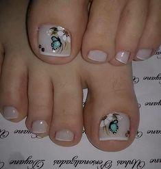 Sessel mit Hocker Locations of Model Television-sessel Gisborne Locations of StylePlaces of Model In Toe Nail Color, Toe Nail Art, Nail Colors, Acrylic Nails, Nail Nail, Pretty Toe Nails, Cute Toe Nails, Love Nails, Pedicure Designs