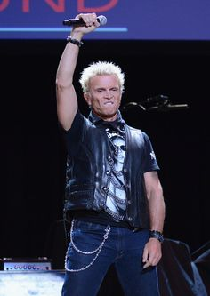 Billy Idol Singer Billy Idol performs onstage during the 8th Annual ...