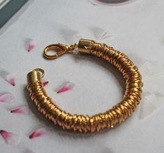 Jump Ring Coil Bracelet | AllFreeJewelryMaking.com