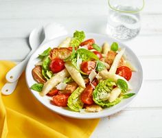 asparagus & bread salad