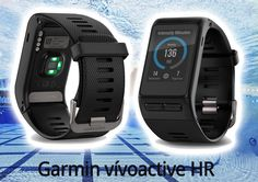 What is Garmin vívoactive HR? Fitness Tracker, Smart Watch, Gadgets, Technology, Activities, Watches, Health, Sports, Tech