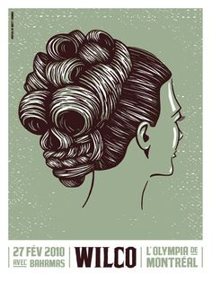 There are just too many great Wilco concert posters.  I love them all.