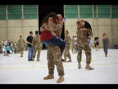Soldiers Coming Home Surprise Compilation 2015 - 49 - YouTube